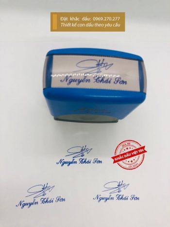 Con dấu chữ ký Nguyễn Thái Sơn