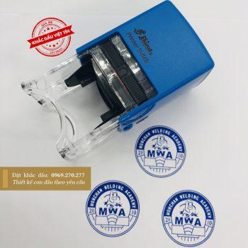 khắc dấu logo công ty đẹp MWA