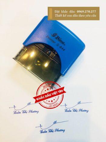 Dấu chữ ký Trần Thị Phương