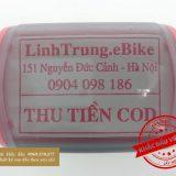Dấu thu tiền COD LinhTrung.eBike