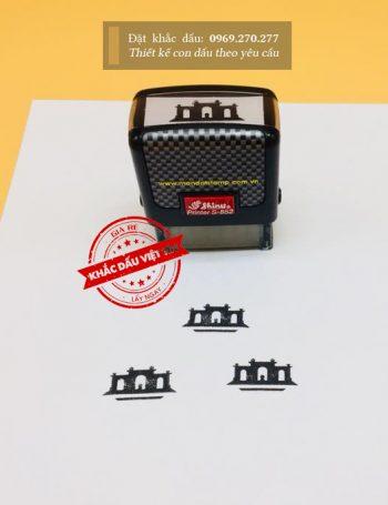 Dấu logo mẫu 04