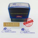 Dấu logo Lilie Nails Cosmetics