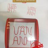 Mẫu dấu tự thiết kế Vân Anh