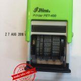 Dấu ngày tháng Shiny Pet400 - Mẫu 06
