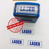 Dấu xác nhận Laser