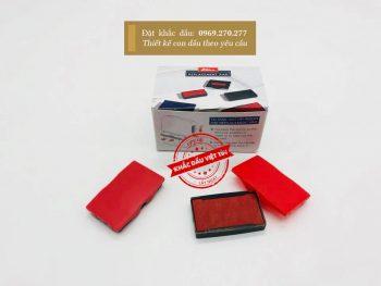 Tampon dấu Shiny đỏ mẫu 06