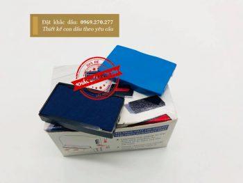 Tampon dấu Shiny xanh mẫu 05