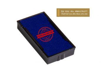Tampon dấu Shiny S-822-7 màu xanh a2