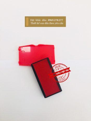 Tampon dấu Shiny S-854-7 đỏ a2