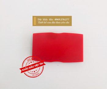 Tampon dấu Shiny S-854-7 đỏ a3