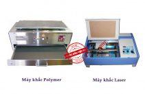 So sánh máy khắc Laser và máy khắc Polymer